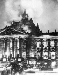 Reichstag Parliament Building Fire Of Germany - February 27, 1933